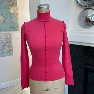 NWT the fifth label turtleneck long sleeve pink s